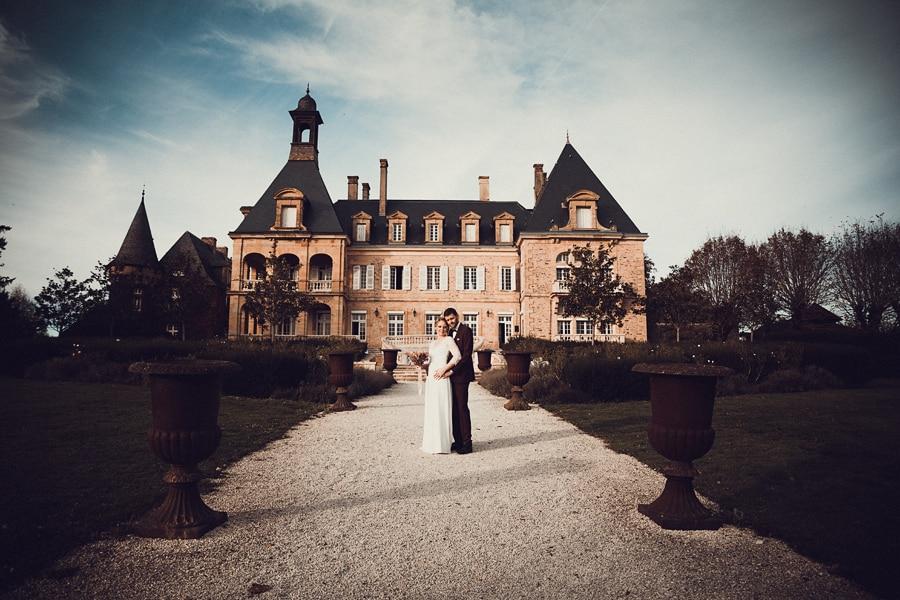 photographe mariage domaine essendiéras