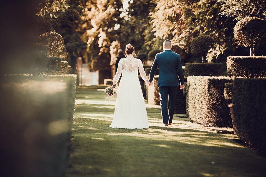 photo mariage manoir Eyrignac