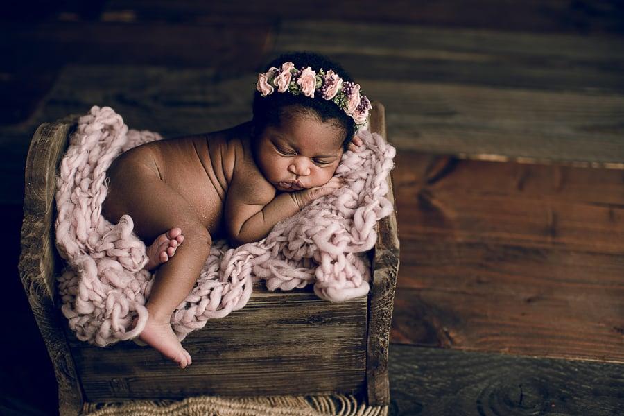 photographe bébé noir bordeaux